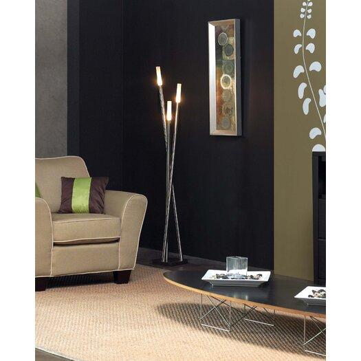 Trend Lighting Corp. Cavelleto 3 Light Floor Lamp