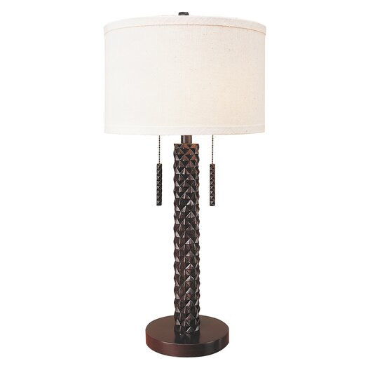 "Trend Lighting Corp. Pina 32"" H Table Lamp with Drum Shade"