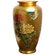 "Oriental Furniture 12"" Tung Chi Vase in Gold"