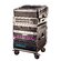 Gator Cases Slant Top Rack Base with Casters, for Console Audio Rack