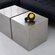 Gus* Modern Stainless Steel Cube
