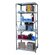 Hallowell Hi-Tech Heavy-Duty Open Type 5 Shelf Shelving Unit Starter