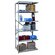 Hallowell Hi-Tech Duty Open Type 5 Shelf Shelving Unit Add-on