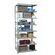 "Hallowell Hi-Tech Extra Heavy-Duty Open Type 87"" H 7 Shelf Shelving Unit Add-on"