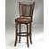"Hillsdale Furniture Norwood 26.5"" Swivel Counter Stool in Cherry"
