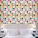 WallCandy Arts French Bull Multi-Dot Wallpaper