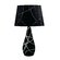Lite Source Dorotea  Table Lamp in Black