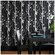 Graham & Brown Solitude Black/Silver Wallpaper by Superfresco