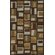 Dalyn Rug Co. Structures Chocolate Geometric Rug