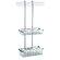 Geesa by Nameeks Basket Double Shower Basket in Chrome