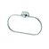 Geesa by Nameeks Standard Hotel Oval Towel Ring in Chrome