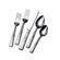 Mikasa 20 Piece Gourmet Basics Blossom Flatware Set
