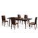 New Spec Inc Cafe-47 5 Piece Dining Set