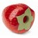 Planet Dog Orbee-Tuff Strawberry Dog Toy with Treat Spot