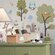 Room Mates Studio Designs 89 Piece Woodland Animals Wall Decal Set