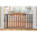 "Decorative Wood and Metal 60"" Expansion Gate by Summer Infant"