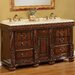 "Kent 60"" Double Sink Vanity Set"