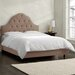 <strong>Skyline Furniture</strong> Velvet Upholstered Panel Bed