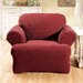 Stretch Sullivan Club Chair T-Cushion Slipcover