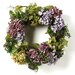 "Nearly Natural 24"" Hydrangea Wreath"