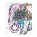 <strong>Sterling Industries</strong> Bold Elephant Oversized Oil Painting Print on Canvas