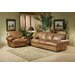 <strong>Houston Leather Living Room Set</strong> by Omnia Furniture