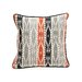 <strong>Villa Home</strong> African Mod Siliana Print Stripes Pillow