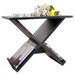 Hokku Designs Cross Braced End Table