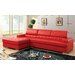 Derrikke Tufted Sectional with Storage Console by Hokku Designs