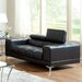 Derrikke Plush Loveseat by Hokku Designs