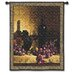 <strong>Fine Art Tapestries</strong> Classical Wine Bottle with Grape and Wal Small by Loran Speck Tapestry