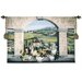 <strong>Fine Art Tapestries</strong> Classical Vino De Tuscany by Felisky Tapestry