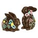 <strong>2 Piece Easter Bunny Statue Set</strong> by Design Toscano