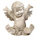 <strong>Topsy Tumbling Cherub Statue</strong> by Design Toscano