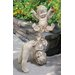 <strong>Design Toscano</strong> 2 Piece Topsy and Turvey Tumbling Cherub Statue Set