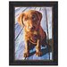 Dogs That I Know, Chocolate Labrador Puppy Graphic Print Art