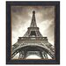 Design Toscano Eiffel Tower Under Glass by Marcin Stawiarz Framed Photographic Print