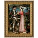 Tristan and Isolde Sharing the Potion, 1916 Replica Painting Canvas Art