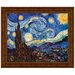 <strong>Design Toscano</strong> Starry Night, 1889 by Vincent van Gogh Framed Painting Print