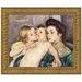 Design Toscano The Caress by Mary Cassatt Framed Painting Print