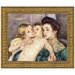 <strong>Design Toscano</strong> The Caress by Mary Cassatt Framed Painting Print