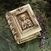 Ancient Bible Reliquary Box