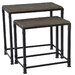 Madison Park Cirque 2 Piece Nesting Table