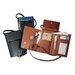 Royce Leather Deluxe Passport Case with Removable Neck/Shoulder Strap