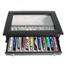 <strong>Royce Leather</strong> 12 Pen Display Case in Black