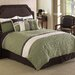 <strong>Frontera Quilted 7 Piece Comforter Set</strong> by Hallmart Collectibles