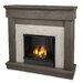 Real Flame Cascade Cast Mantel Gel Fuel Fireplace
