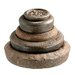 <strong>Iron Assorted Weights Statue (Set of 5)</strong> by Barreveld International