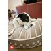 <strong>Cosmopolitan Dog on Wire Round Dog Pillow</strong> by P.L.A.Y.