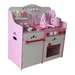 <strong>My Strawberry Wooden Play Kitchen</strong> by Merske LLC